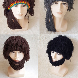 $enCountryForm.capitalKeyWord Australia - Autumn and winter Creative Madness Hat Adult Head Long Grass Savage Hat Hat Stage Performance Handmade Hats for Halloween