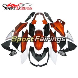 kawasaki body kits Australia - Orange black New Injection Fairings For Kawasaki Z1000 10 11 12 13 2010 - 2013 ABS Plastic Motorcycle Full Fairing Kit Body Frames Cowlings