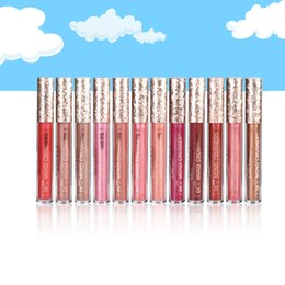 $enCountryForm.capitalKeyWord NZ - Hot Color Castle 16 Colors New diamond flash powder lip gloss lip gloss Glittering gold diamond liquid lipstick High Quality