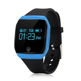 samsung smart watch tracker UK - Makibes E07S Smart Watch Sports Wristwatch Bluetooth Smartwatch Pedometer Fitness Tracker Smartband Call Reminder for iPhone Samsung Huawei