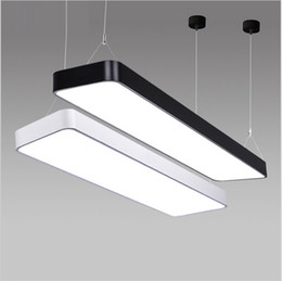 Suspended ceiling light fixtures online shopping suspended ceiling suspended ceiling light fixtures online shopping classroom office modern led ceiling pendant lamp rectangle suspended aloadofball Image collections