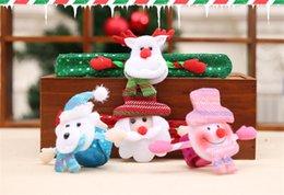 $enCountryForm.capitalKeyWord NZ - Christmas Gift Snowman Bear Elk Santa Claus Sequins Luminous Bracelet Bangle Christmas Decoration Pat Circle Hand Rings Q0135
