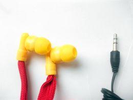 $enCountryForm.capitalKeyWord Australia - Red Washable Earphone Drawcord Earbud   clothes washable earphones hoodie built-in MP3 waterproof headphone 2pcs lot free shipping