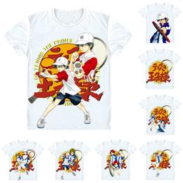 T Shirts Style NZ - Anime Shirt The Prince of Tennis T-Shirts Multi-style Short Sleeve Tenni-Pri Ryoma Echizen Kunimitsu Tezuka Cosplay Motivs Hentai Shirts