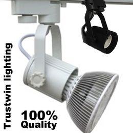 110V 220V E27 Socket de rail de rail de piste Spotlight Spot Lampe Ampoule Ampoule Luminaire Porte-lecteur L en Solde