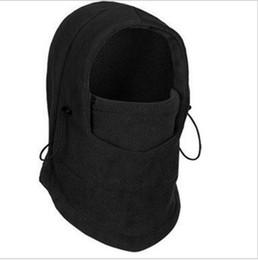 Crazy Shopping 6 In 1 Thermal Fleece Balaclava Hat Hood Police Swat Ski Bike Wind Stopper Face Mask New Caps Neck Warmer Home oran
