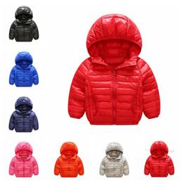 Pad Jacket Canada - winter boys girls jacket snow treasure cartoon coat cotton-padded clothes cotton-padded clothes children's coat Kid light down jacket