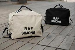 $enCountryForm.capitalKeyWord Canada - 2017 wholesales New Unisex Women Canvas Shoulder Bag Handbags Totes Men Raf Simons Printing Free Drop Shipping