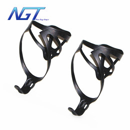 Discount weight bike - new black and white bicycle UD carbon fiber cages carbon cages super light weight 16g bottle cages Bike Water Full carbo