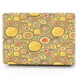 Macbook Retina 13 Inches Australia - Grain-15 Oil painting Case for Apple Macbook Air 11 13 Pro Retina 12 13 15 inch Touch Bar 13 15 Laptop Cover Shell