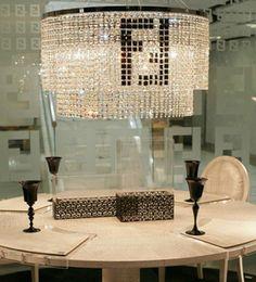 $enCountryForm.capitalKeyWord NZ - F mark Rectanglar crystal chandelier for dining room kitchen coffee shop Bar light modern led pendant chandelier hotel crystal candelabro