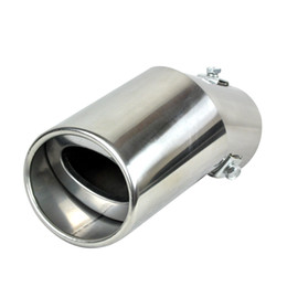 China Stainless Steel Car Exhaust Muffler Tip Pipes For Peugeot 307 408 207,For Ford Focus 2 focus 3,For SUZUKI SX4 Kia Rio 2012 K2 suppliers