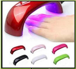 Barato Led Gel Lamp Venda-Nail Dryer Máquina de lâmpada de cura Mini USB 9W 3 LED UV Gel unha polonês Poderoso UV lâmpada Light Nail Polish rápido seco PK diamante lâmpada HOT SALE
