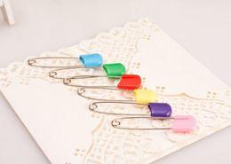 Großhandel Farbe Sicherheitsnadel Mehrzweck-Babynadeln Die Baby-SicherheitsnadelBaby-Kleid-Stoffwindeldusche Craft Pins Game Kit Farbe