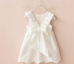 $enCountryForm.capitalKeyWord Canada - 2016 Fairy Princess Dresses Sleeveless Lace Dress Flower Embroidery European Children Clothing Girl Party Dress Kids Dresses K7599
