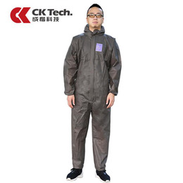 CK tecnología marca ropa protectora contra el polvo pedazo de pieza tapa limpia ropa uniformes ropa limpia pieza ropa para el cuerpo pintura en aerosol especial pac