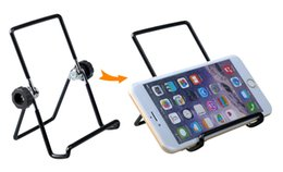 Tablet Mini Stand Adjustable NZ - Universal Tablet Desk Stand Holder Bracket For iPad Mini Air 2 3 pro lenovo apple iphone For xiaomi mipad samsung PDAs huawei htc Accessorie