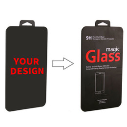 $enCountryForm.capitalKeyWord UK - Wholesale Custom Brand Name Steel Packaging Box for 2.5D Tempered Glass for iPhone X 8 8 Plus Retail Universal Iron Box