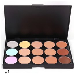 China 2017 Makeup Face Concealer Professional MINI 15 color Concealer platte no box without logo hotsal mexico cheap logo light box suppliers