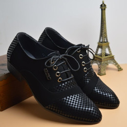 Trend Shoes British Canada - British business casual fashion wedding stylist nubuck leather shoes winklepicker trend of Korean men