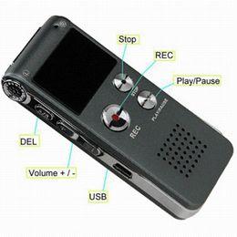 4gb Mp3 Player Canada - 4GB Mini USB CL-R30 Digital Voice Recorder Pen 650Hr Dictaphone MP3 Player Grey gravador de audio