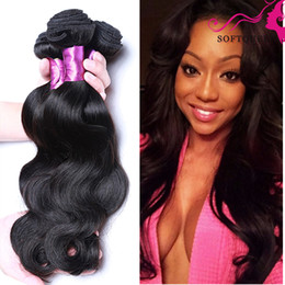 Discount 7a grade remy hair bundle - Grade 7a Unprocessed Virgin Hair 4 Bundles Malaysian Body Wave Cheap Malaysian Human Hair Extentions Real Malaysian Remy