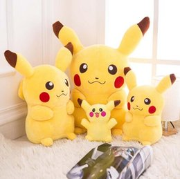 2016 new Pikachu plush toy doll 20cm to 100cm children gift doll child sixty-one Christmas gift Women girl cute bear doll free shipping from tissue box green manufacturers