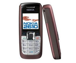 english language 2018 - Original Nokia 2610 English Russian Arabic Keyboard 2G GSM 900 1800MHz Dual Band Multi-Language Refurbished Mobile Phone