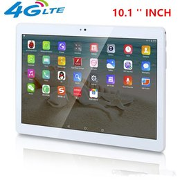 hd quad core tablets 2018 - Newest Android 6.0 4G LTE HD Tablet PC 10.1 inch Octa Core 4GB RAM 64GB ROM Bluetooth 8.0 MP Resolution 1920*1200 Shippi