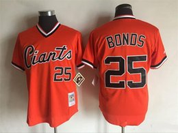 3534526d4 ... 25 Barry Bonds 2016 Mens Giants Majestic Orange Cool Base Cooperstown  Collection Throwback MLB Baseball Jersey ...