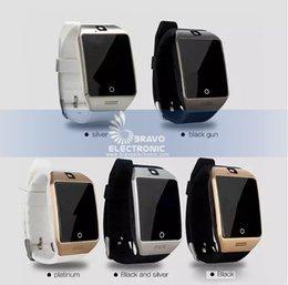 Novo q18 bluetooth smart watch suporte cartão sim conexão nfc saúde smartwatches para android smart phone com pacote de varejo frete grátis venda por atacado