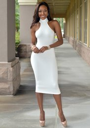$enCountryForm.capitalKeyWord Canada - Cheap net color Halter collar tight sexy skirt KF995 Club LYQ036