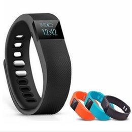Venta al por mayor de TW64 Pulsera Inteligente Bluetooth Pulseras Inteligentes Reloj Inteligente Impermeable Pasómetro Sleep Tracker Función para android ios sistema