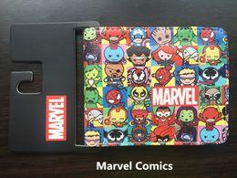 $enCountryForm.capitalKeyWord Australia - Marvel Comics Super hero figure collection wallet cosplay women Men bifold Wallets Coin Pocket Card Holder purse