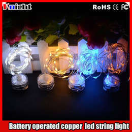 Coin Operated Australia - new arrival CR203 COIN battery operated led string light 2M 3M Copper wire led fairy string light for wed flower arrangement 50set