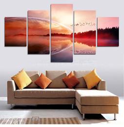 $enCountryForm.capitalKeyWord Canada - Beautiful Scenery 5 Panel Modern Print Painting Canvas Painting Modern Art Print Wall Art Gift Top Home Decoration