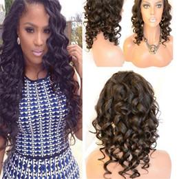 French Lace Top Wigs Wavy NZ - Best Wavy Brazilian Human Hair Glueless Silk Top Full lace Wigs Silk Base Body Wave Hair Lace Front Wigs For Black Women