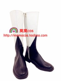Discount anime black butler cosplay - Wholesale-Black Butler Black Bulter Ciel Phantomhive VER long boots new come cos Cosplay Shoes Boots shoe boot #JZ186 an