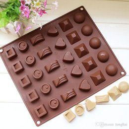 $enCountryForm.capitalKeyWord Canada - Square Soft Silicone Heart Round Chocolate Mold Ice Cube Tray Jelly Candy Mould H2010221