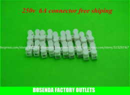 led strip solder UK - 50pcs lot spring Connector for 5050 3528 5630 led strip,wire conneting Easy to install no soldering and very strong free ship