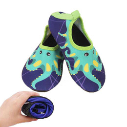 9a1ce3fdc6c5 Quick Dry Children Boys Shoes Octopus Design Sport Running Anti-slip For  Swimming Pool Beach Kids Shoe Boy Girl Sneakers