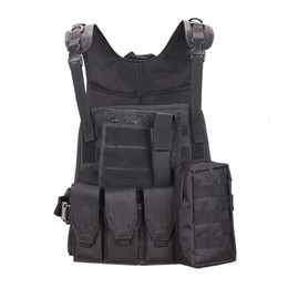 Discount army combat vest - Tactical Vest Mens Tactical Hunting Vests Field Molle Combat Plate Carrier CS Outdoor Jungle Equipment Free Shipping