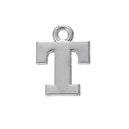 $enCountryForm.capitalKeyWord UK - 30pcs new rhodium plated T cheap silver charms