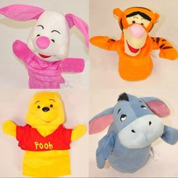 $enCountryForm.capitalKeyWord UK - Baby Kids Toys Cute Cartoon Animal Hand Puppet Story Tell Props juguetes brinquedos jouet enfant