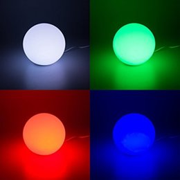16 Color RGB LED Floating Swimming Pool Ball Light RGB LED Bar Table Lamp  USB Rechargeable Floating Swimming Pool Ball