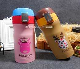 $enCountryForm.capitalKeyWord Canada - New Bounce Christmas animal vacuum cup Cute cartoon students in childrenkeep warm