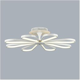 Modern flush mount ceiling light flower online shopping modern flush mount led ceiling light passionate modern contemporary mini style living room acrylic blooming flowers 95 265v ceiling aloadofball Image collections
