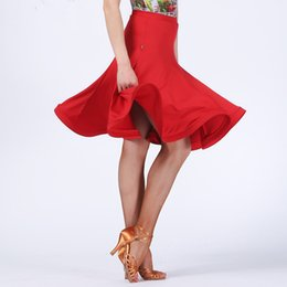 Latin Dance Performance Costumes Canada - Newest fashion charming costume Latin dance short skirt for women female girl lady dancer, vogue performance wears modern dress