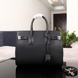 $enCountryForm.capitalKeyWord Canada - Women Bags Genuine Leather Handbag High Quality Black Quilted Chain Bag Lady sacs de marque de luxe en cuir veritable femme