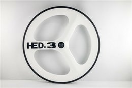 $enCountryForm.capitalKeyWord NZ - HED JET road bicycle 3 spokes carbon wheels Clincher 700C cycling carbon tri-spoke wheel for road track fixed gear